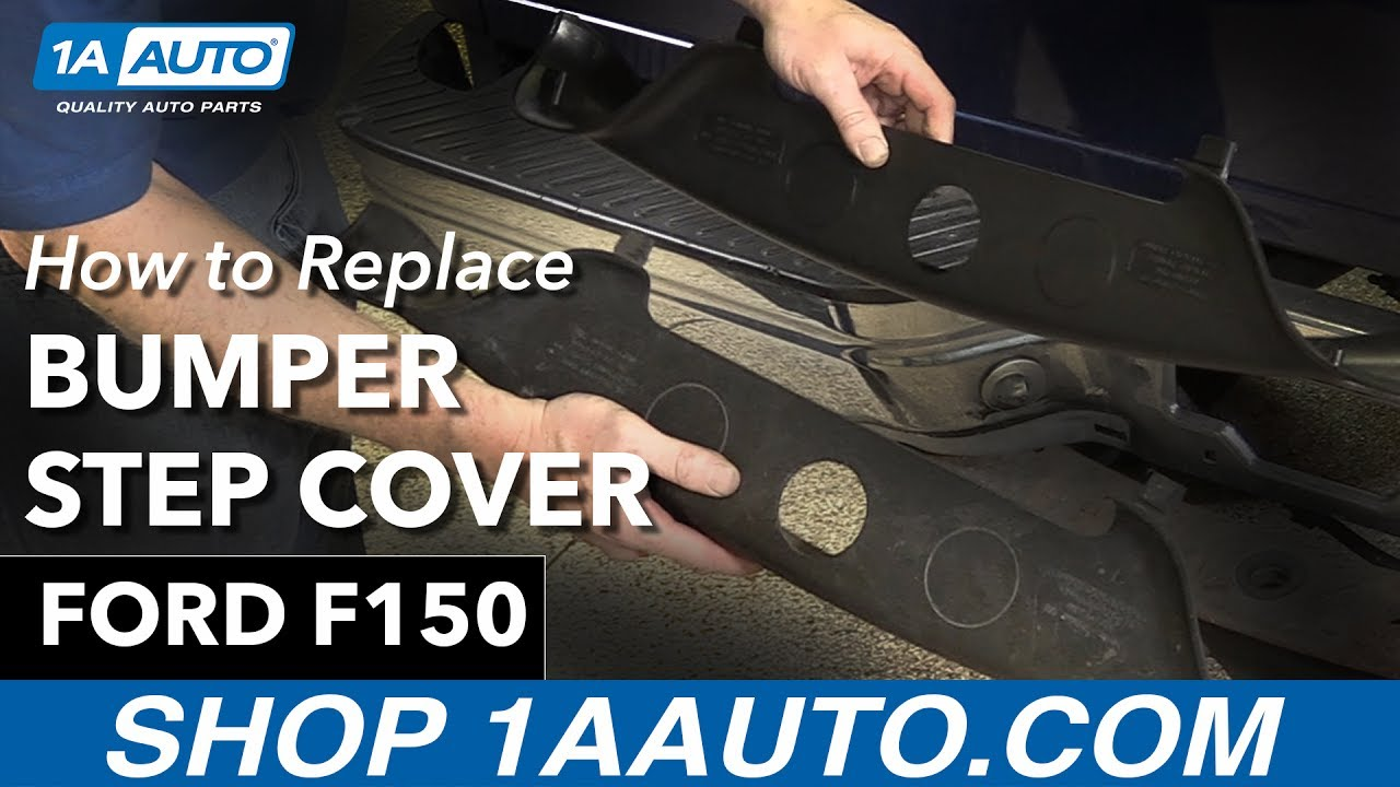 How To Replace Bumper Step Cover 97-04 Ford F150