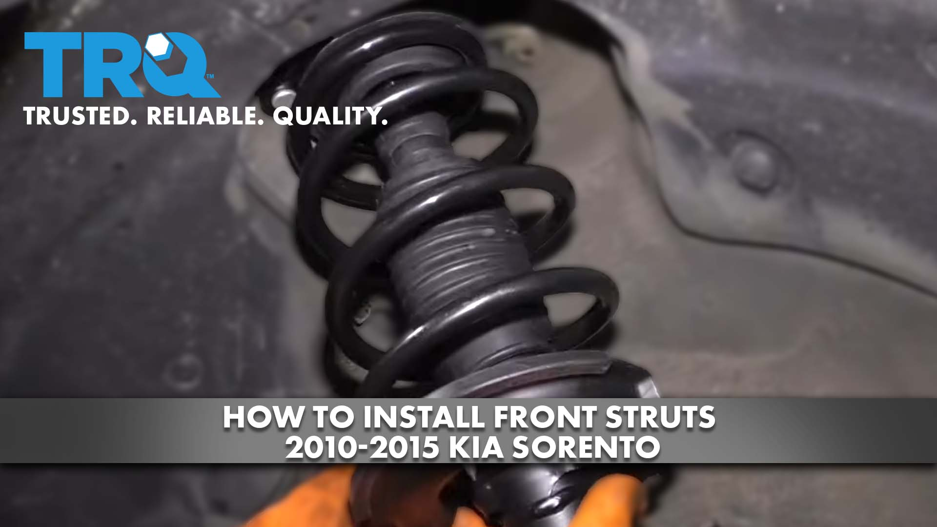 How to Install Front Struts 2010-15 Kia Sorento