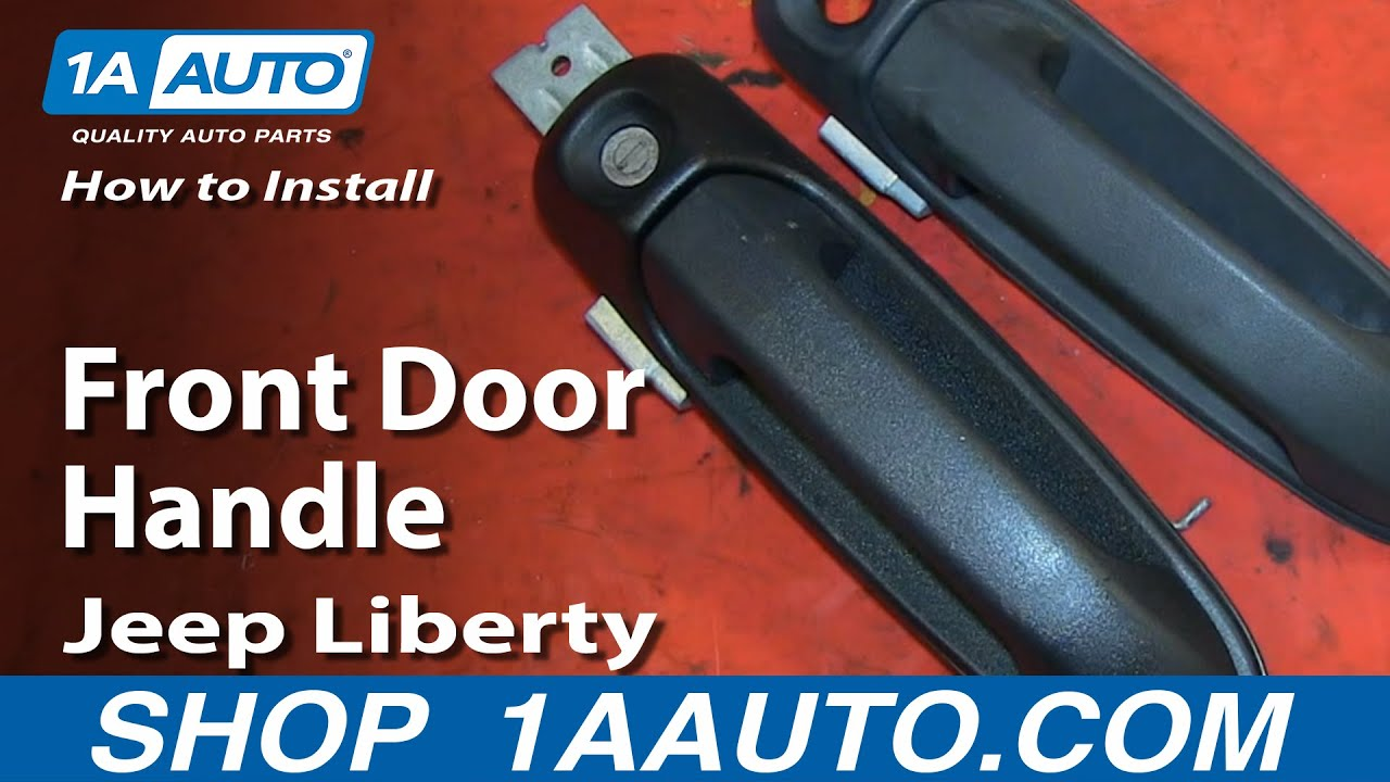 How To Replace Front Door Handle 02-07 Jeep Liberty
