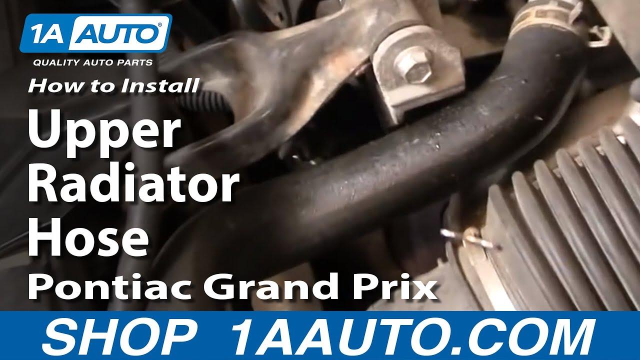 How to Replace Radiator Hose 97-08 Pontiac Grand Prix