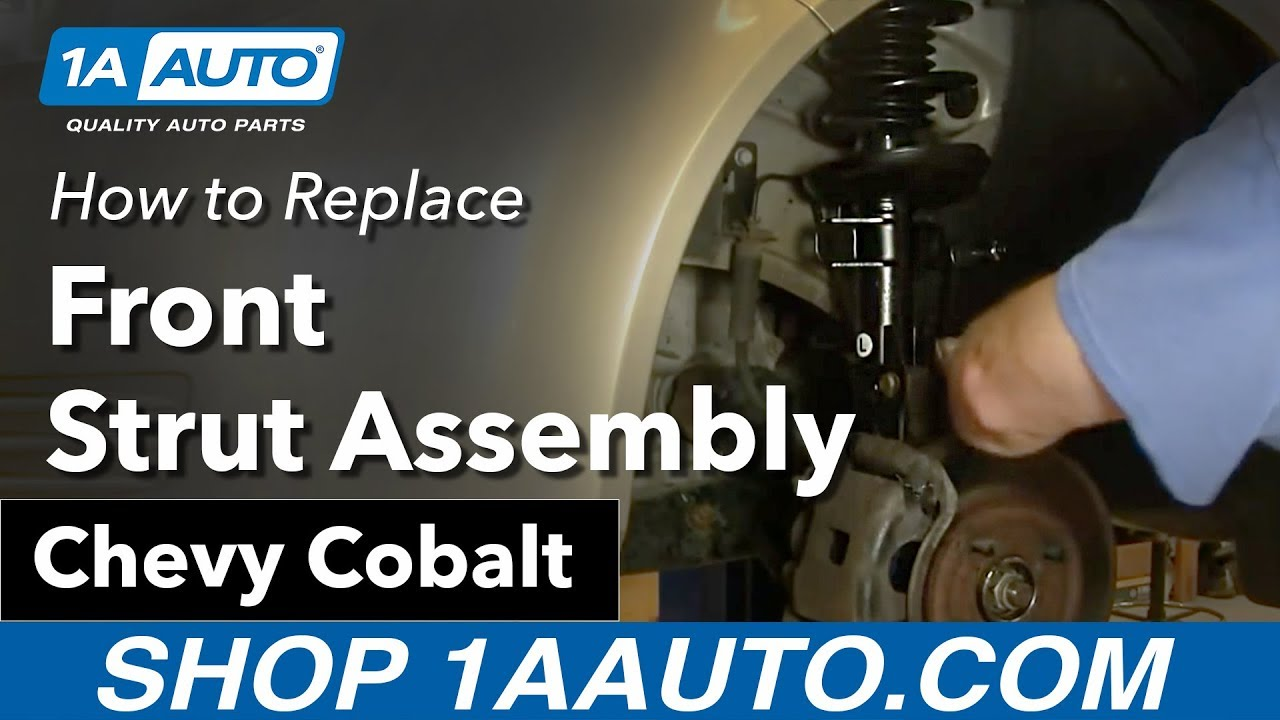 How to Replace Strut Assembly 05-10 Chevy Cobalt