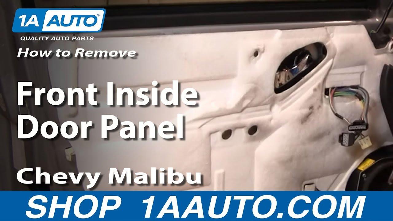 How To Remove Front Inside Door Panel 04-08 Chevy Malibu