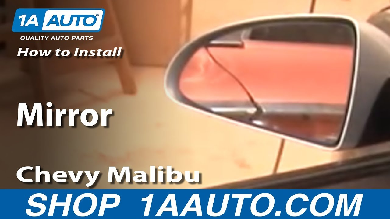 How to Replace Mirror 04-08 Chevy Malibu