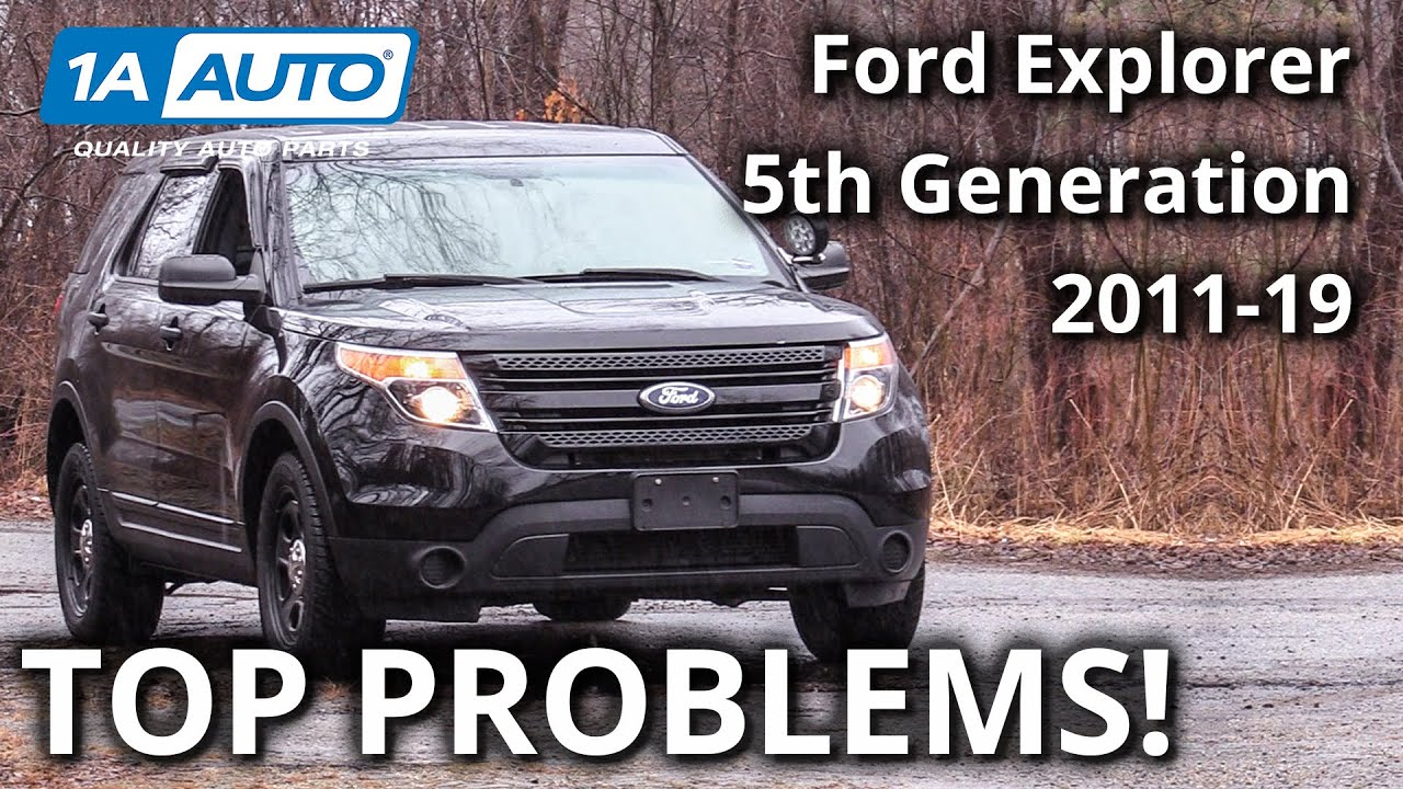 Top 5 Problems Ford Explorer SUV 5th Generation 2011-2019