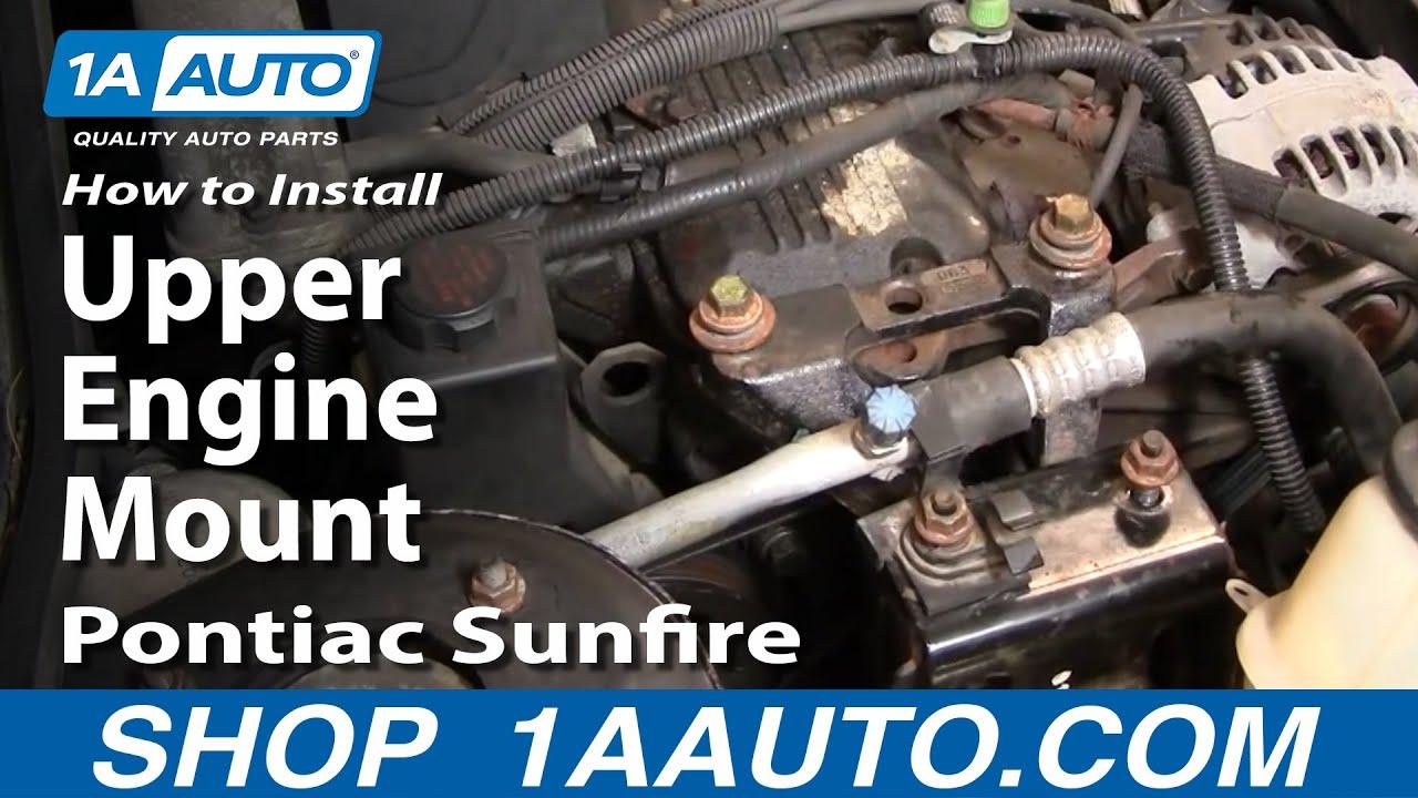 How to Replace Engine Mount 95-02 Pontiac Sunfire