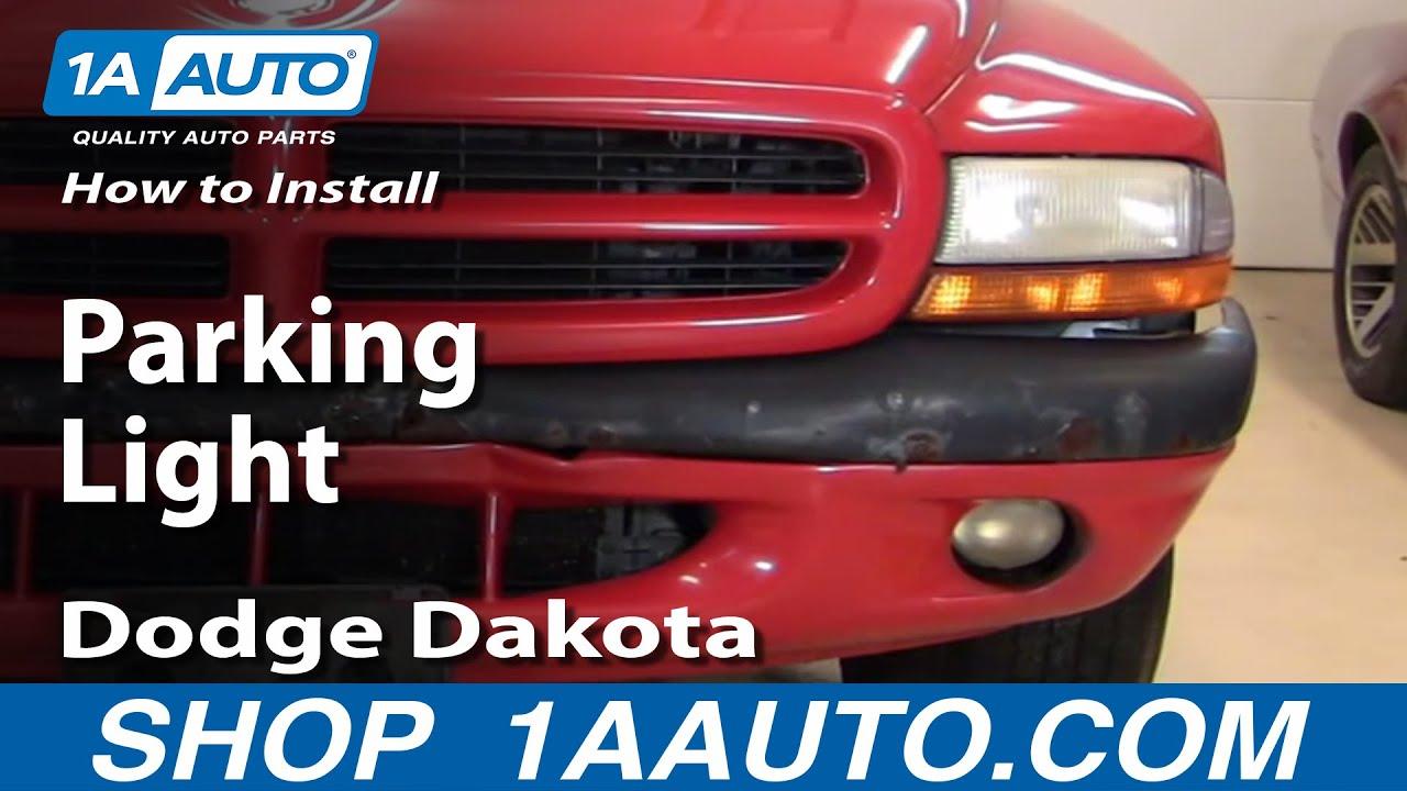 How to Replace Corner Lights 97-04 Dodge Dakota