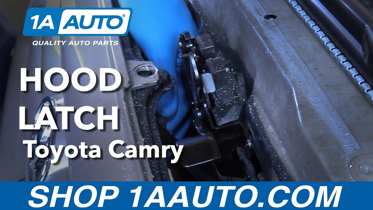 How to Replace Hood Latch 97-01 Toyota Camry
