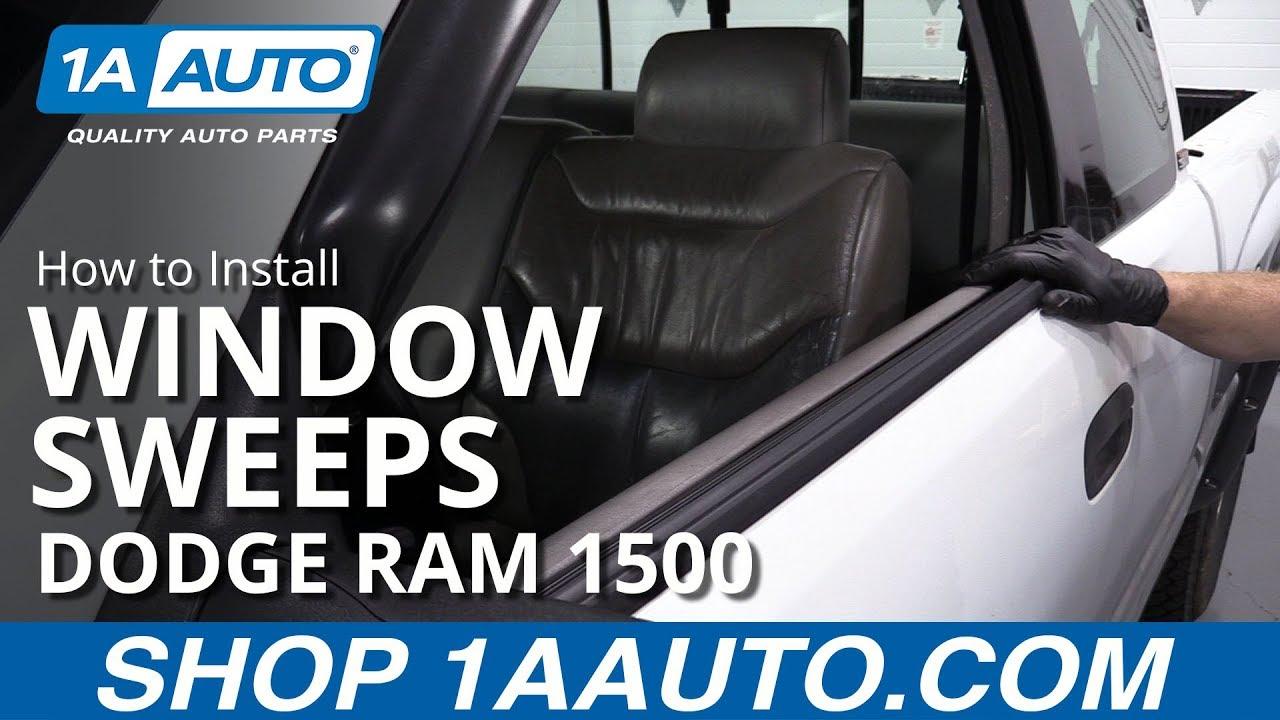 How to Replace Window Sweep 94-02 Dodge Ram 1500