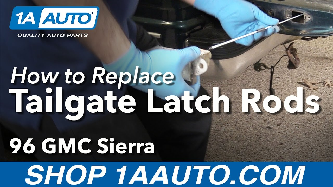 How to Replace Tailgate Latch Rods 88-00 GMC Sierra K1500