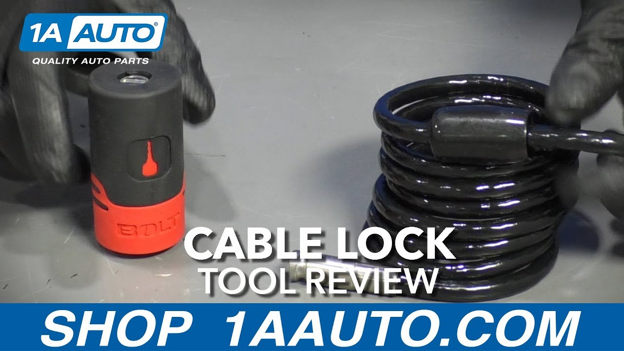 Cable Lock - Available at 1AAuto.com