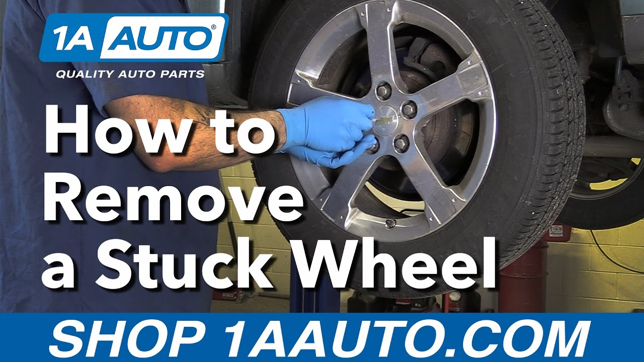 Have a Stuck Tire Heres a tip on how to get it loose