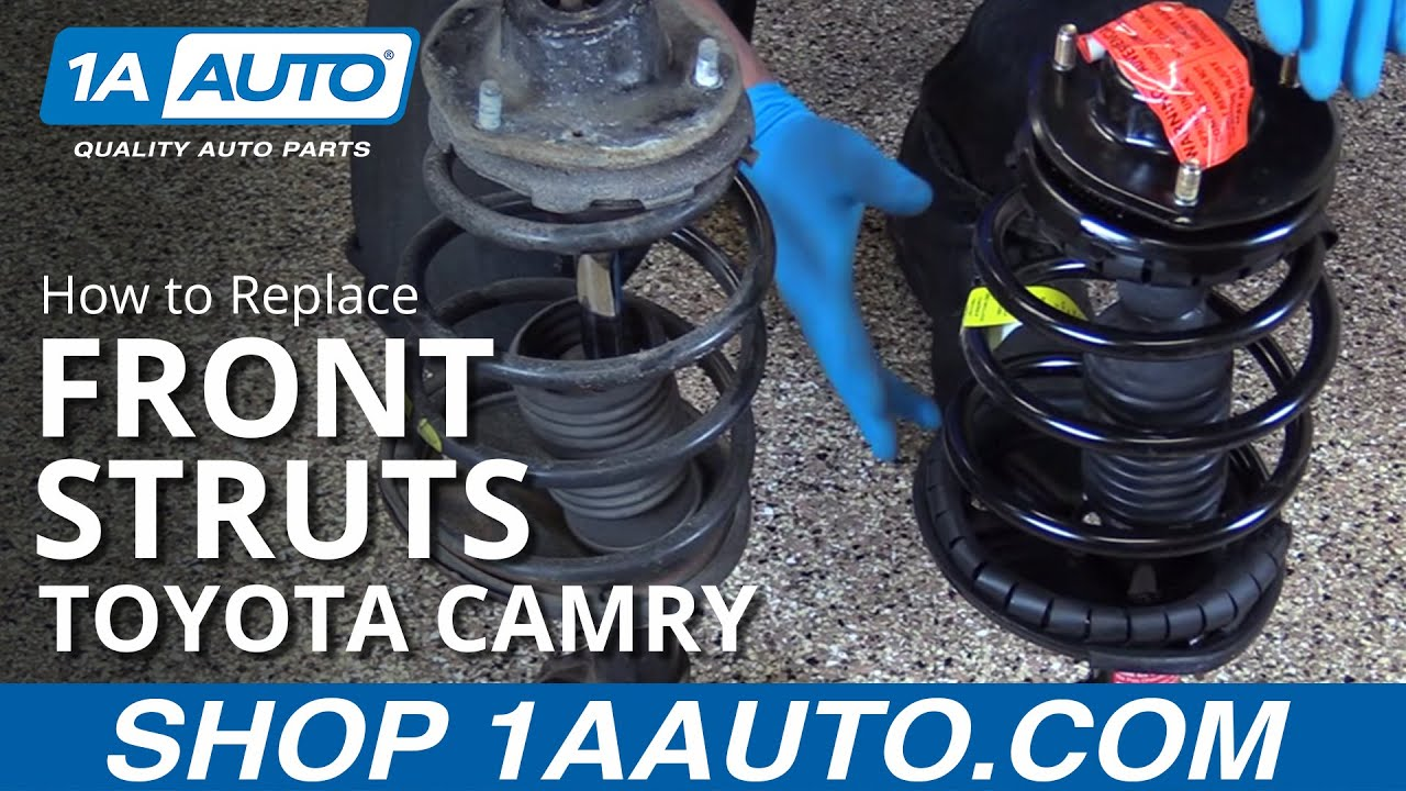 How To Replace Front Struts 97 01 Toyota Camry 1a Auto