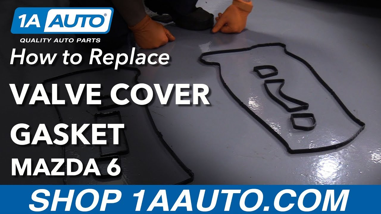 How to Replace Valve Cover Gasket 03-13 Mazda 6