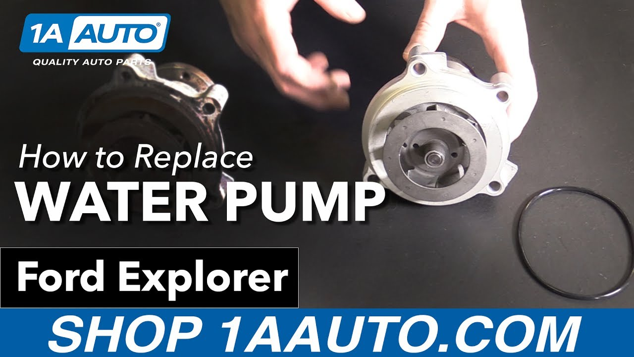 How to Replace Water Pump 02-10 Ford Explorer