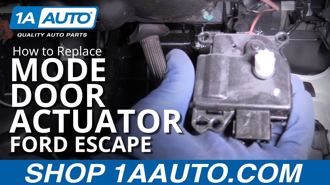 How to Replace Mode Door Actuator 08-12 Ford Escape