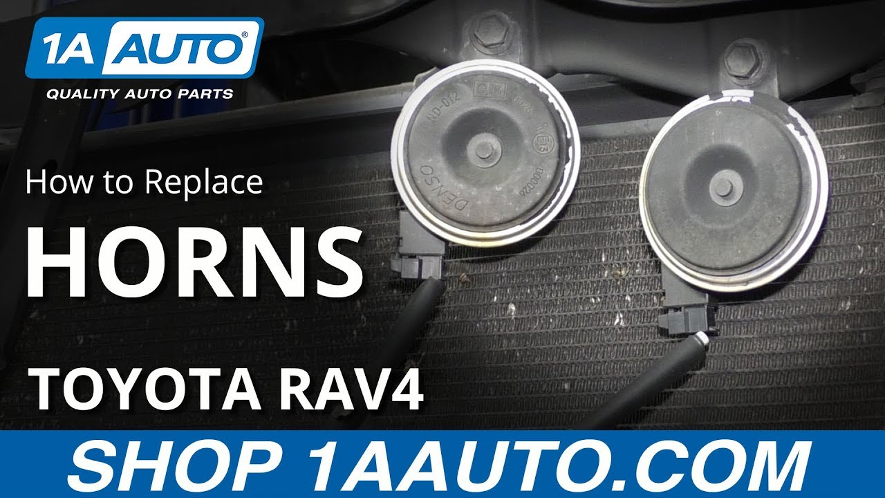 How to Replace Horns 05-16 Toyota RAV4