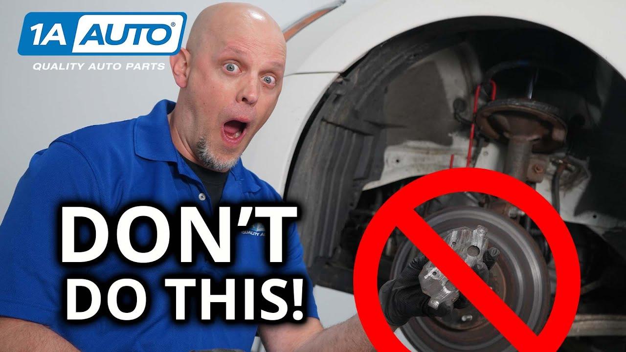 Most Common Brake Installation Mistakes