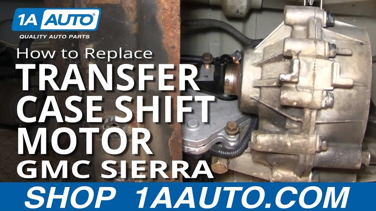 How to Replace Transfer Case Shift Motor 01-02 GMC Sierra 2500 HD