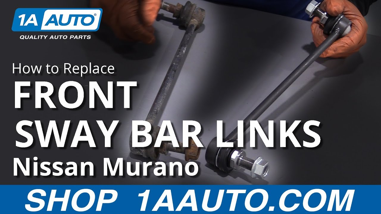 How to Replace Front Sway Bar Link 09-17 Nissan Murano