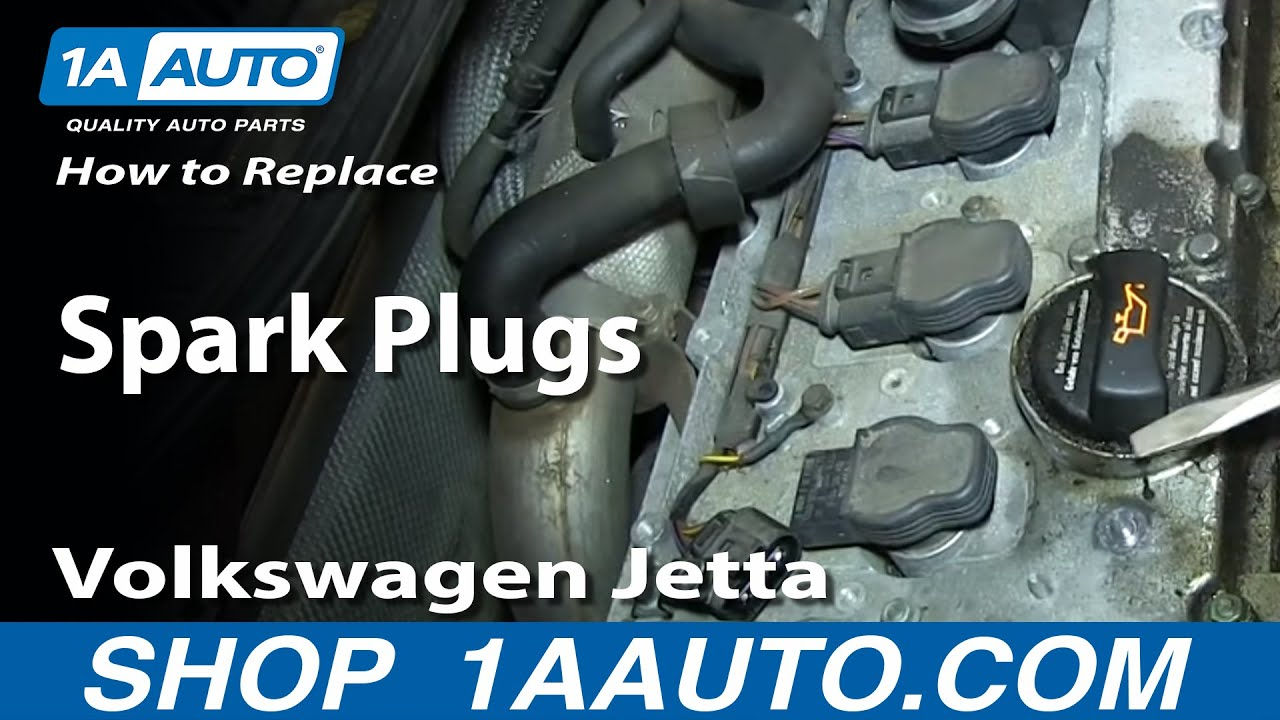 How to Replace Spark Plugs 93-13 VW Jetta