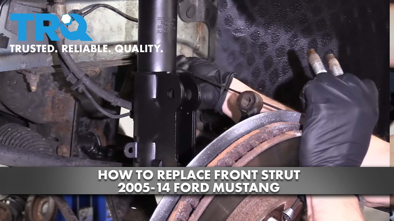 How to Replace Front Strut 2005-14 Ford Mustang