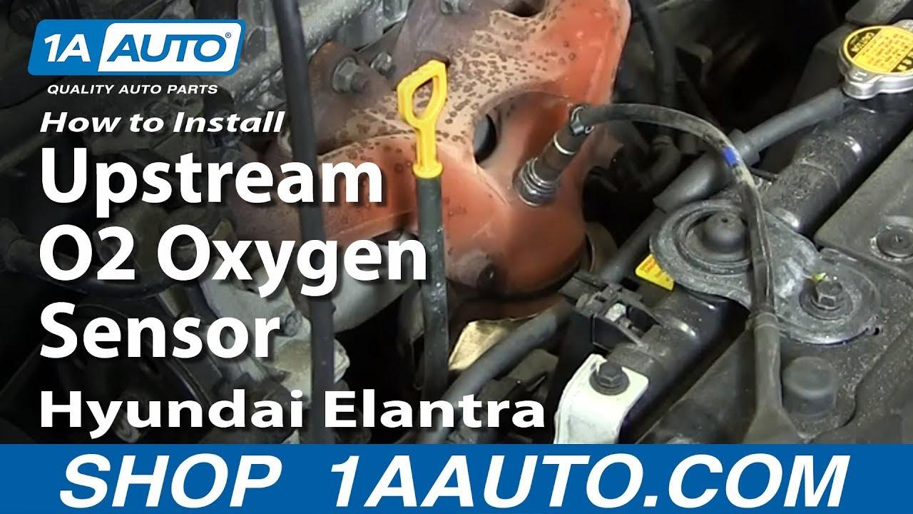 How to Replace O2 Oxygen Sensor 03-09 Hyundai Elantra