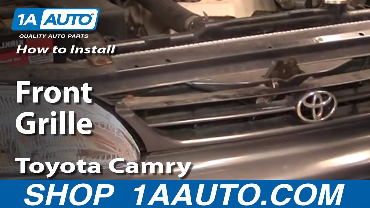 How to Replace Grille 95-96 Toyota Camry