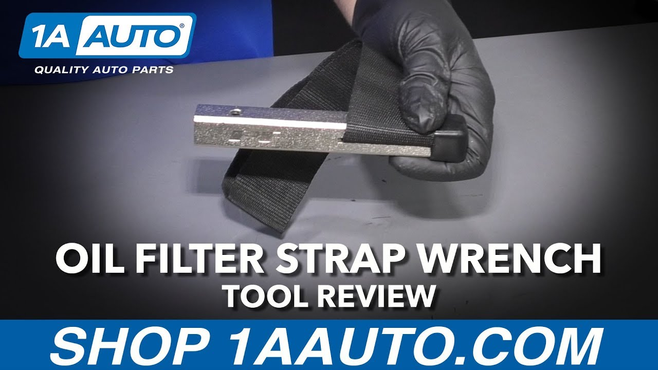 Strap Style Oil Filter Wrench - Available at 1AAuto.com