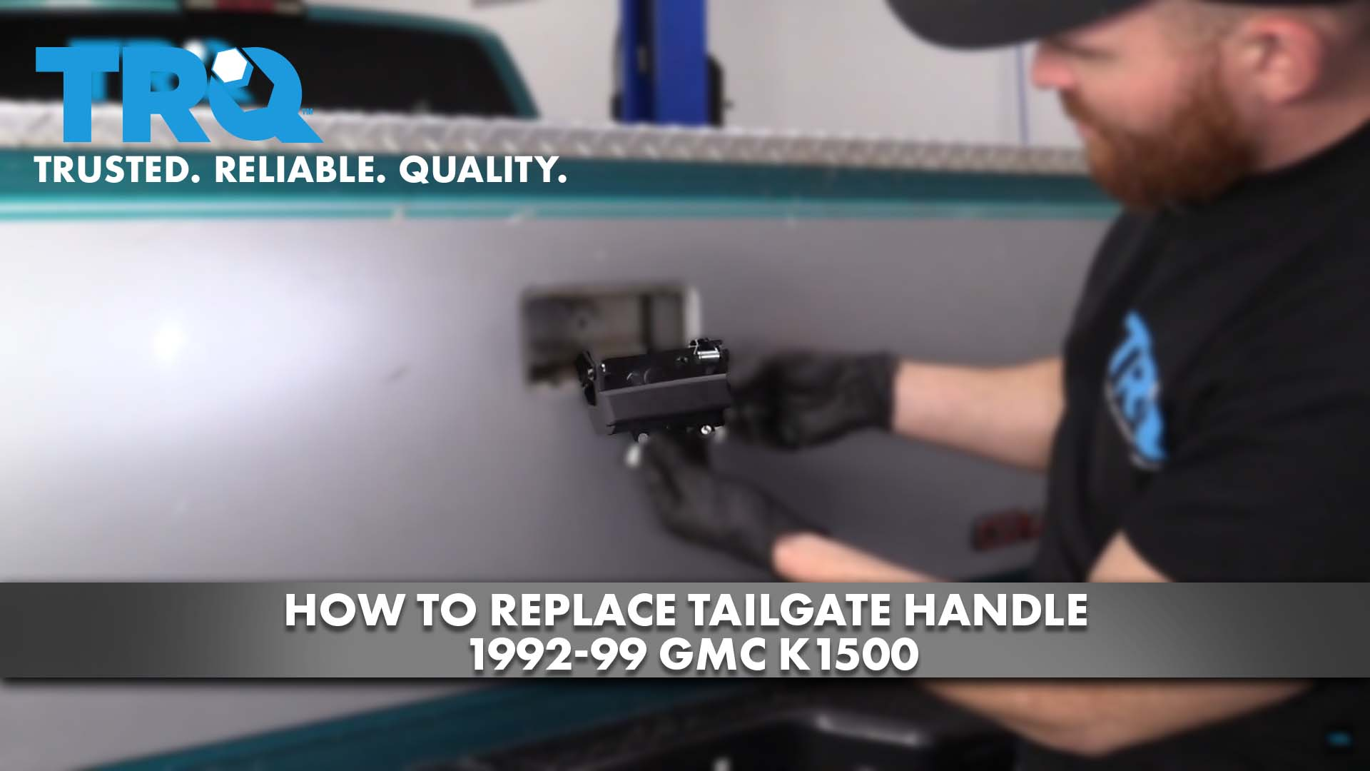 How To Replace Tailgate Handle 1992-99 GMC K1500