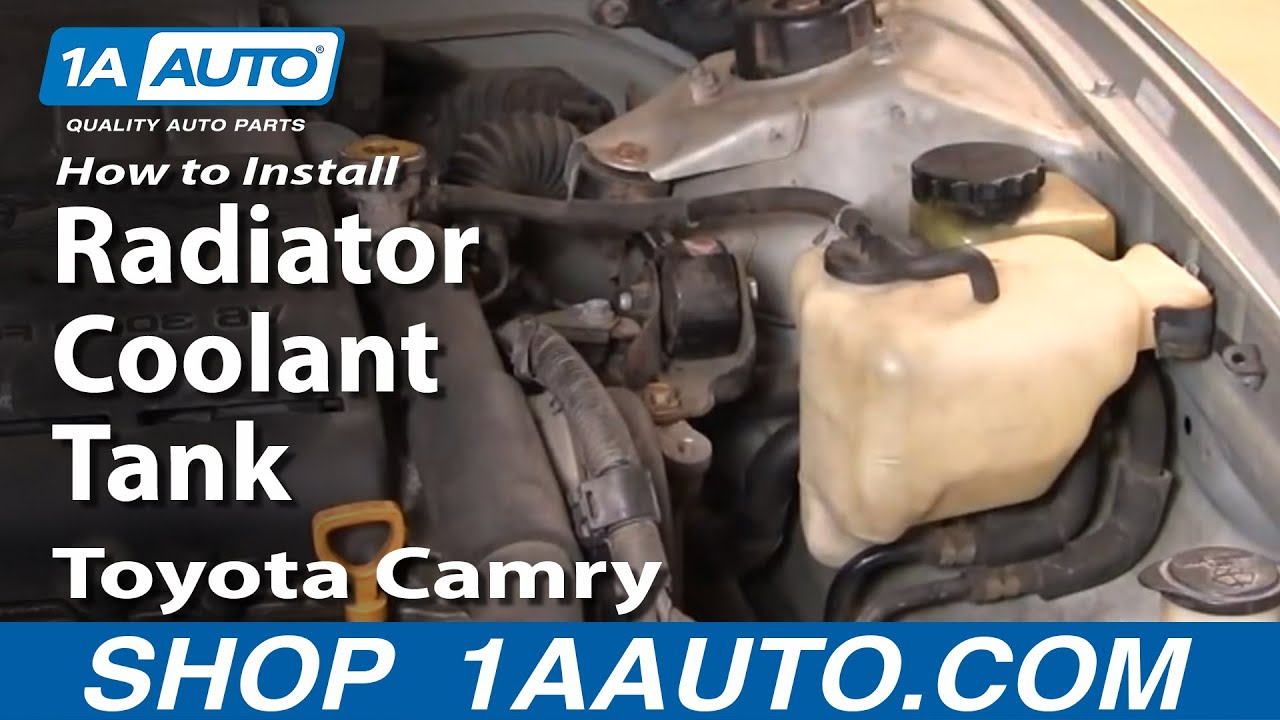 How to Replace Radiator Overflow Bottle 92-96 Toyota Camry
