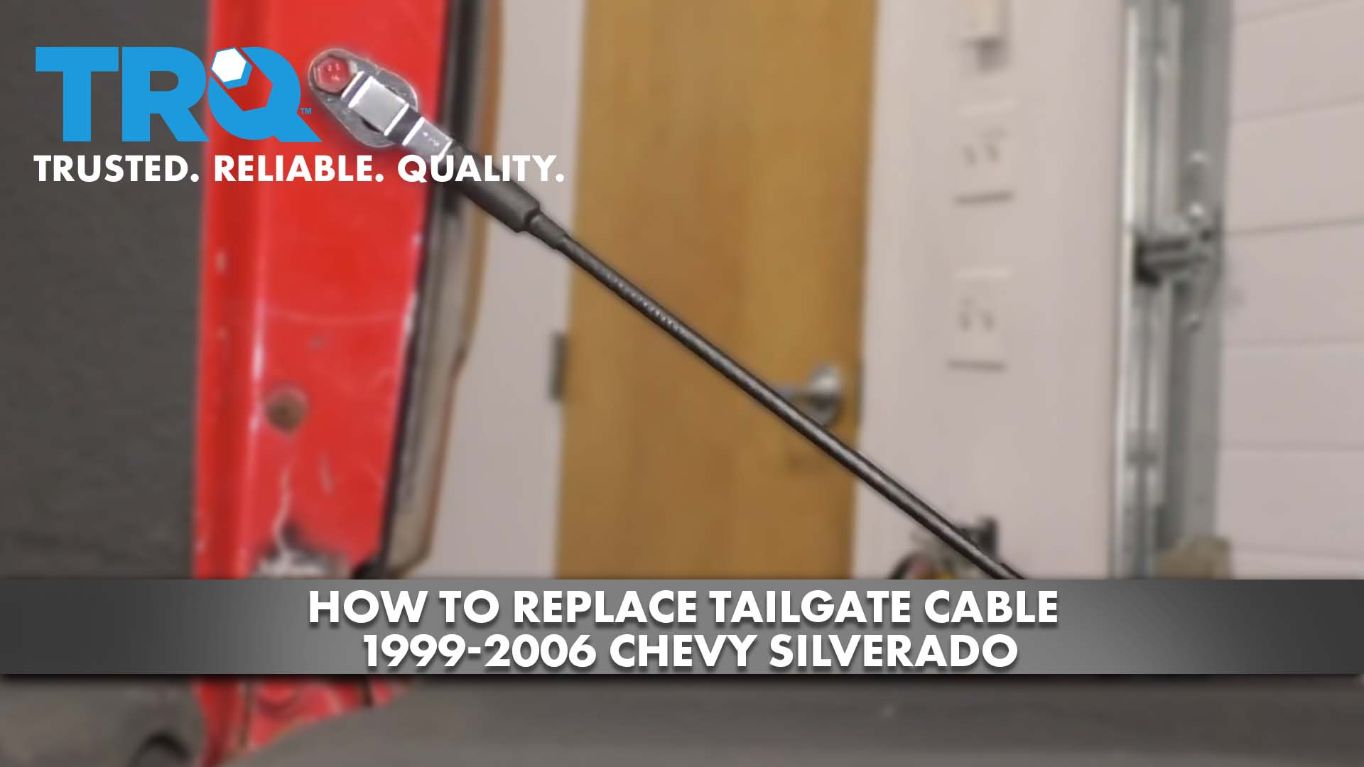 How to Replace Tailgate Cable 1999-06 Chevy Silverado