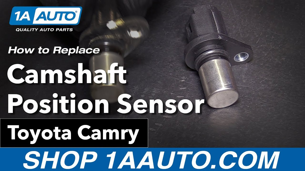 How to Replace Camshaft Position Sensor 02-09 Toyota Camry