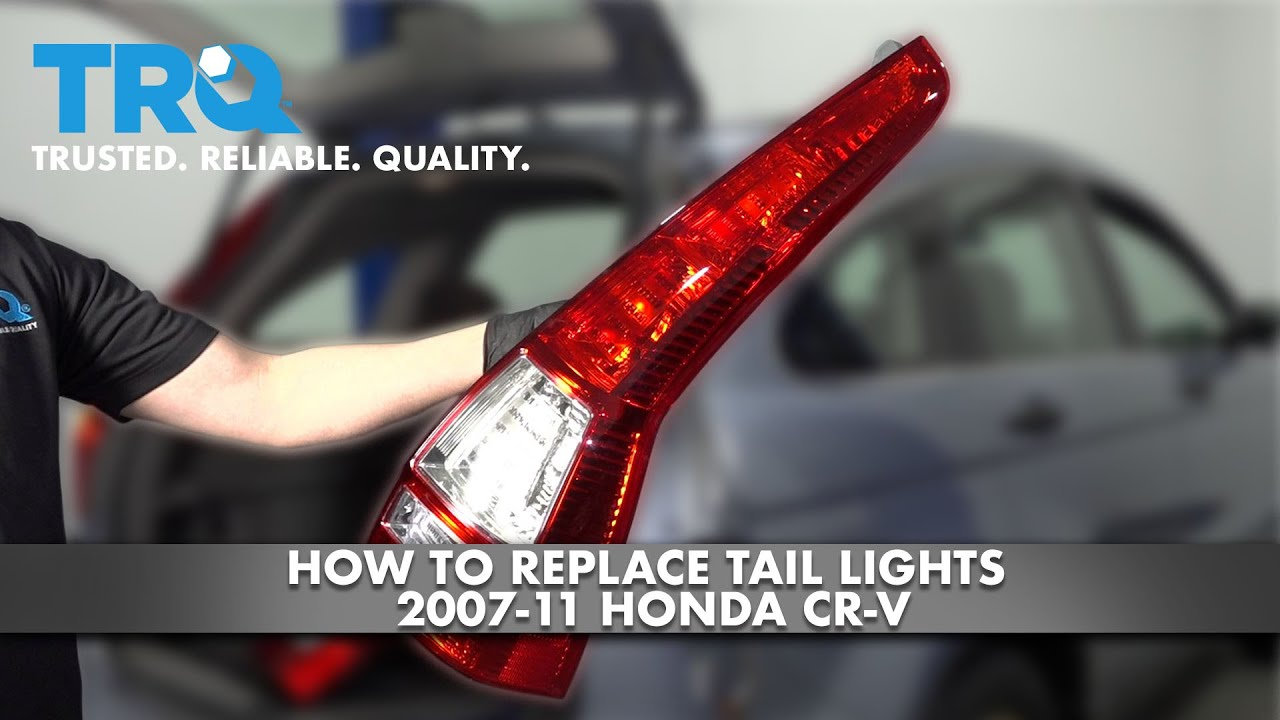 How To Replace Tail Lights 2007-11 Honda CR-V
