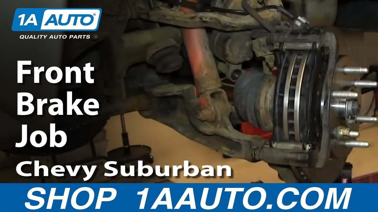 How to Replace Front Brakes 00-06 Chevy Suburban