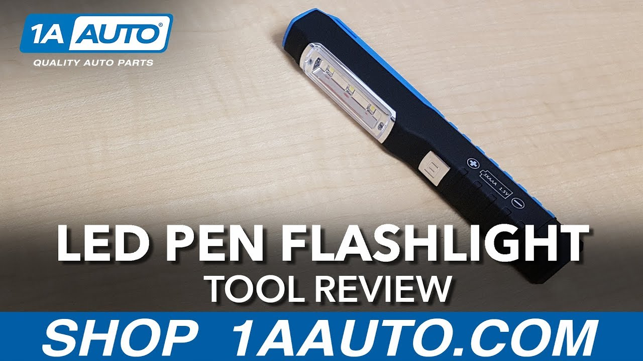 LED Pen Flashlight - Available on 1aauto.com