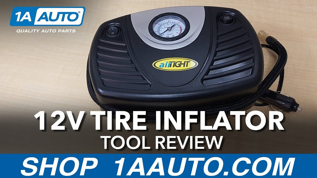 12V Tire Inflator - Available on 1aauto.com