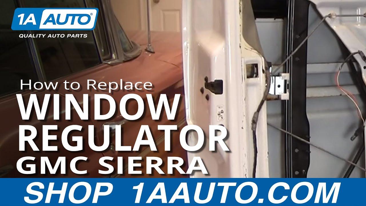 1999 chevy suburban window motor replacement
