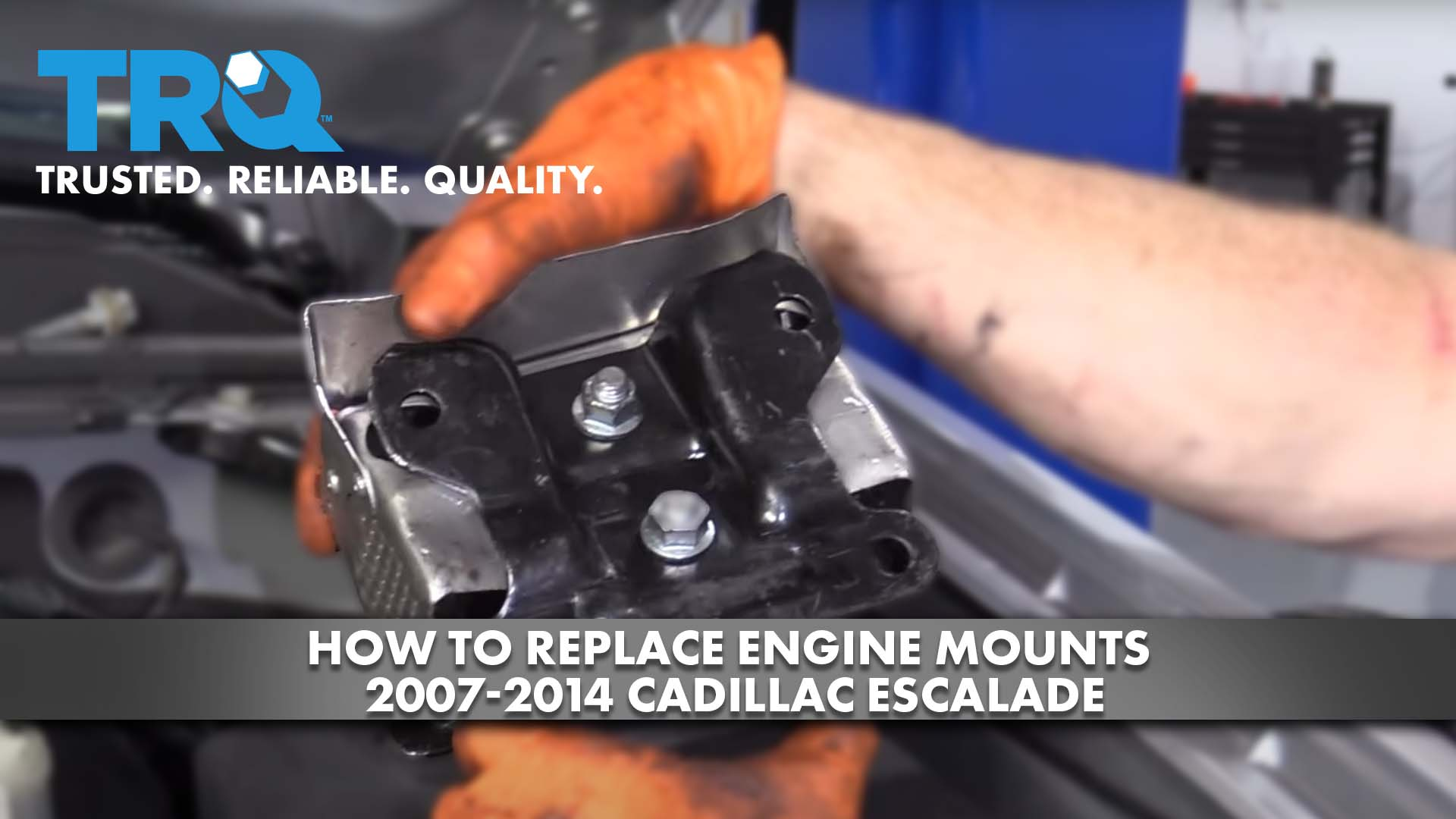 How to Replace Engine Mounts 2007-14 Cadillac Escalade