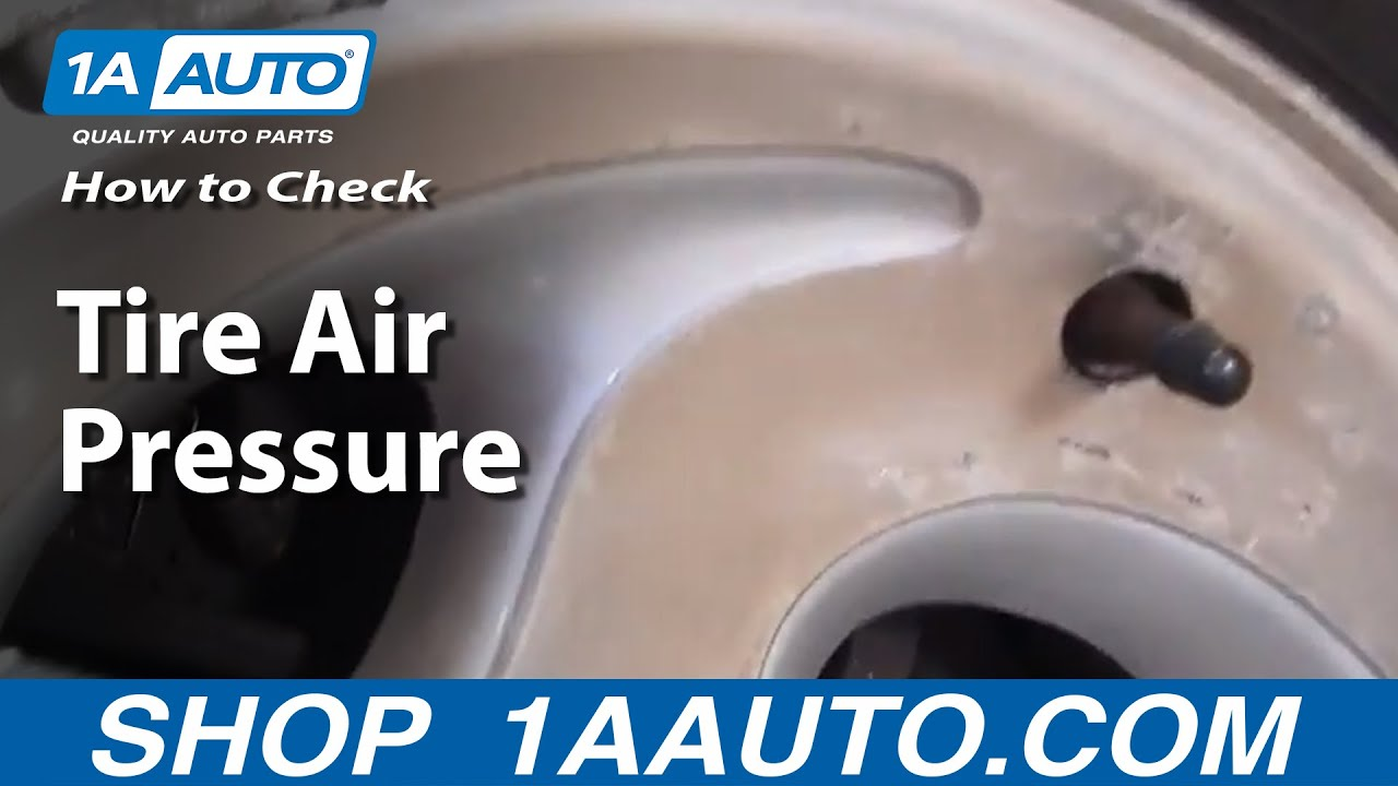 How Do I Check or Add Air to my Tires on My Car or Truck