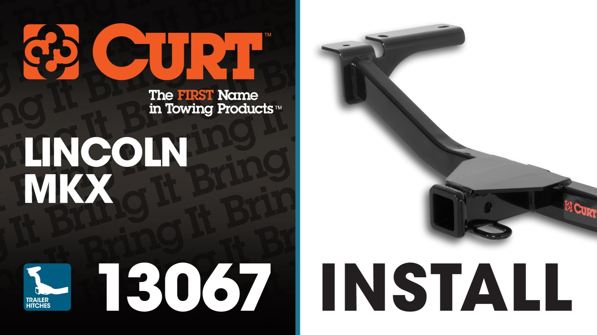 Trailer Hitch Install CURT 13067 on Lincoln MKX