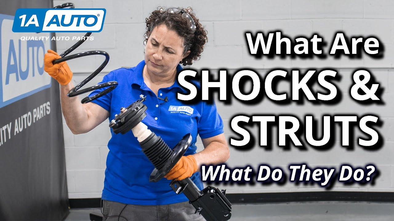 What are Shocks What are Struts Which Does Your Car or Truck Use