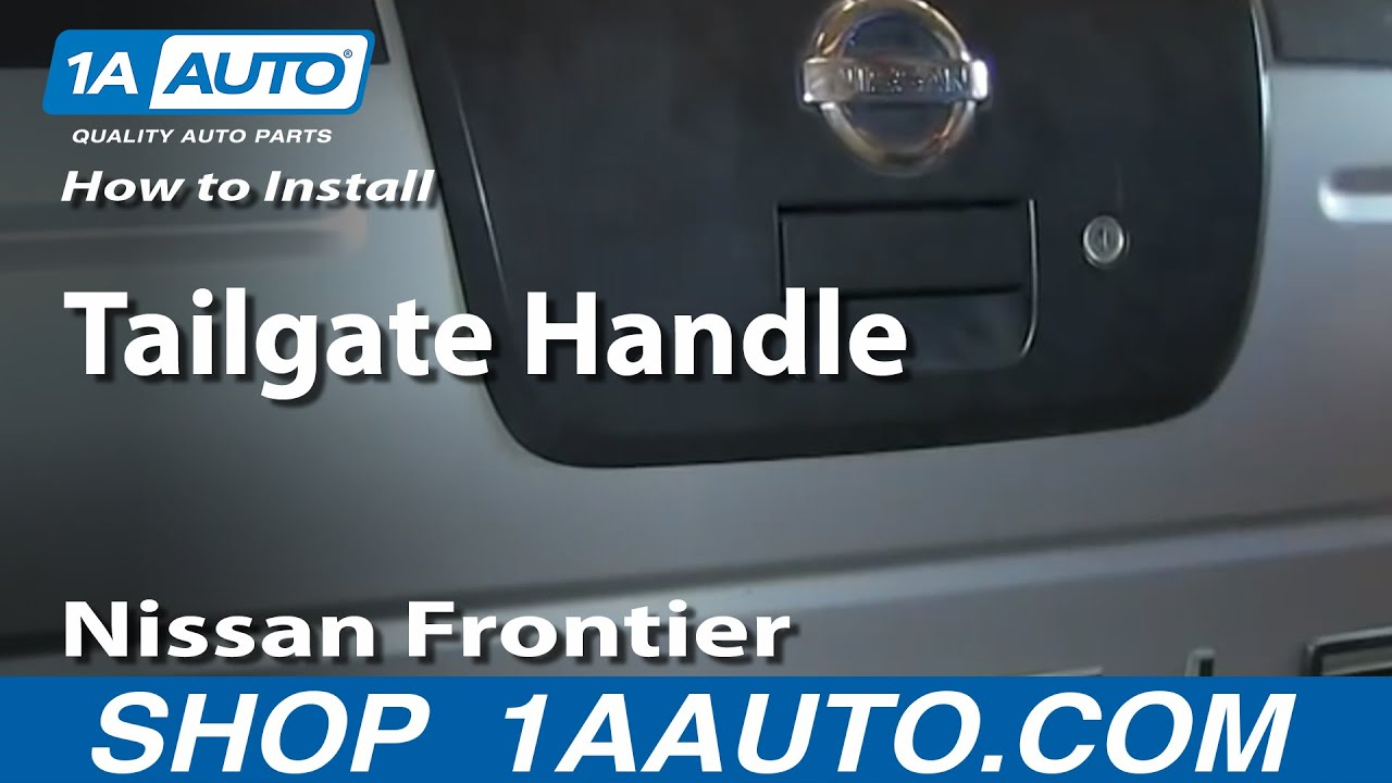 Well Auto Tailgate Handle for 01 02 03 04 FRONTIER