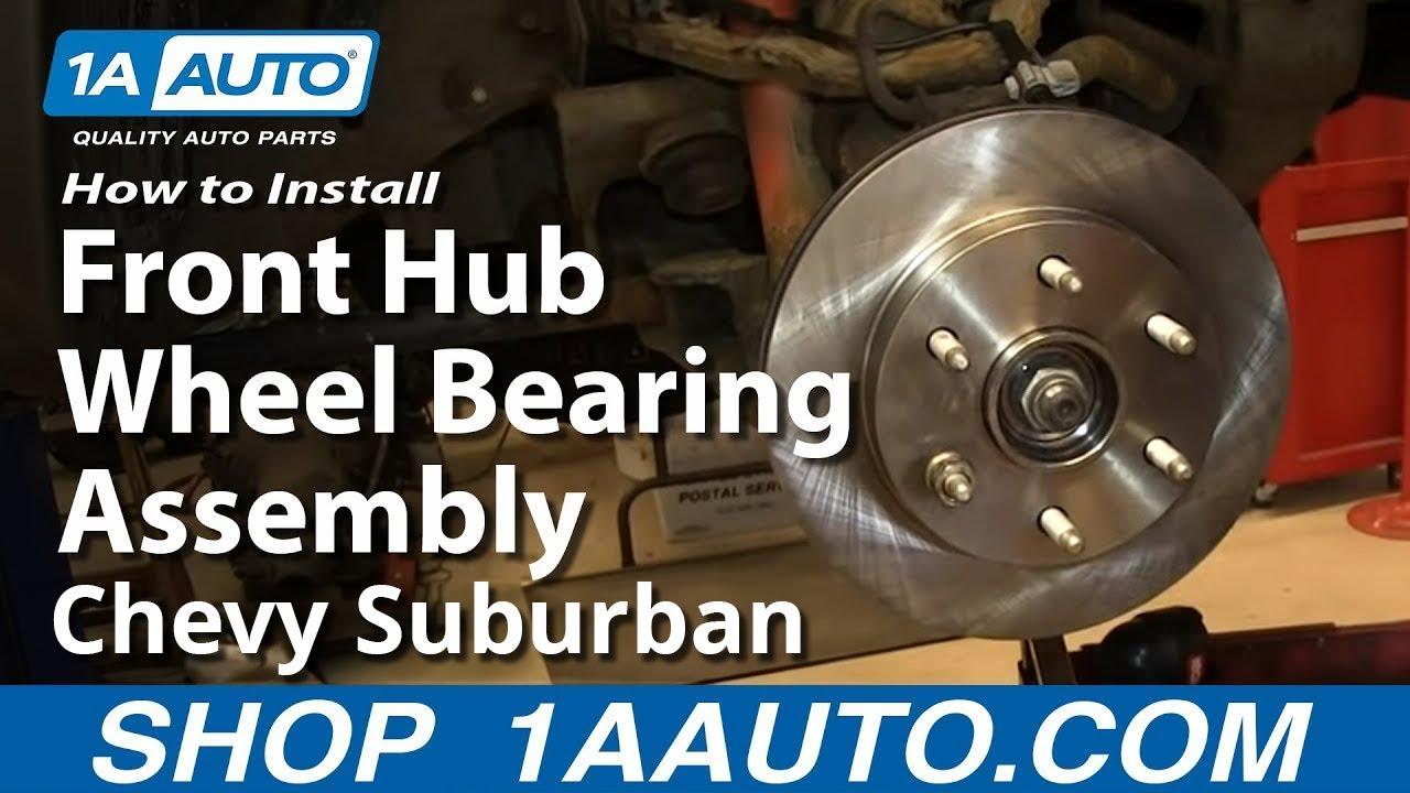 How To Replace Wheel Bearing Hub 99 06 Chevy Silverado 1500 1a Auto