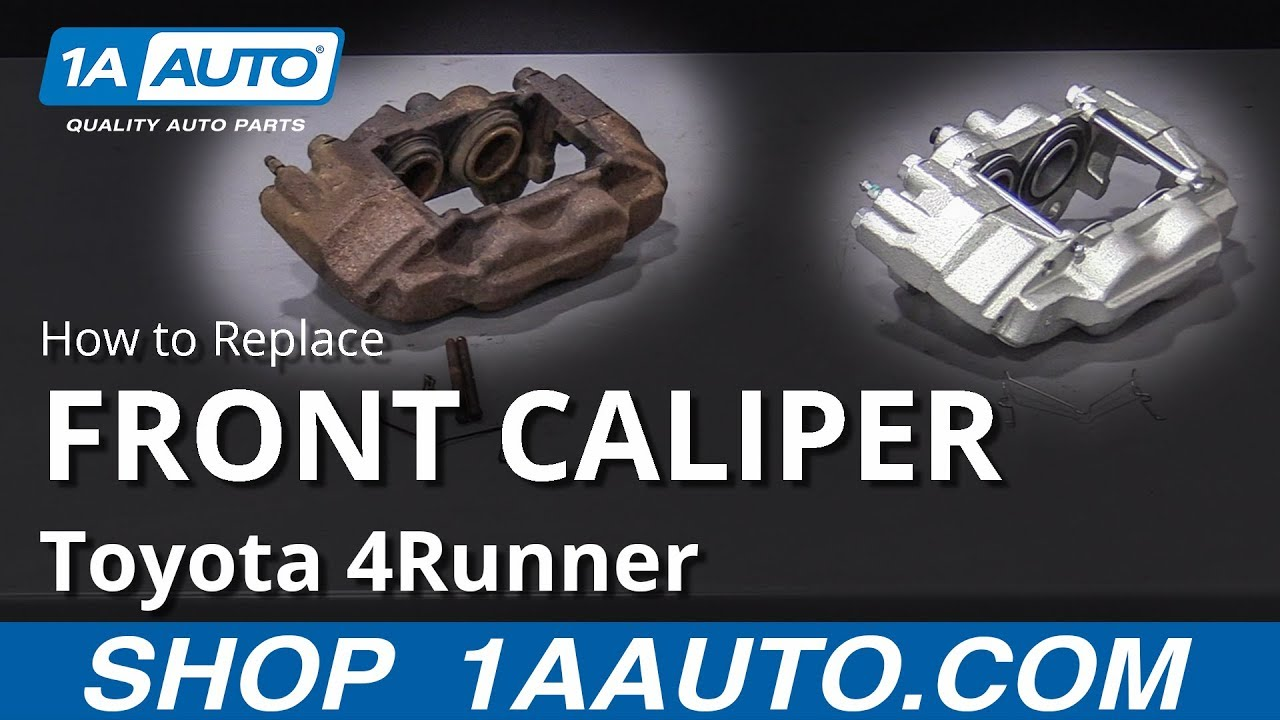 How To Replace Front Caliper 03-09 Toyota 4Runner