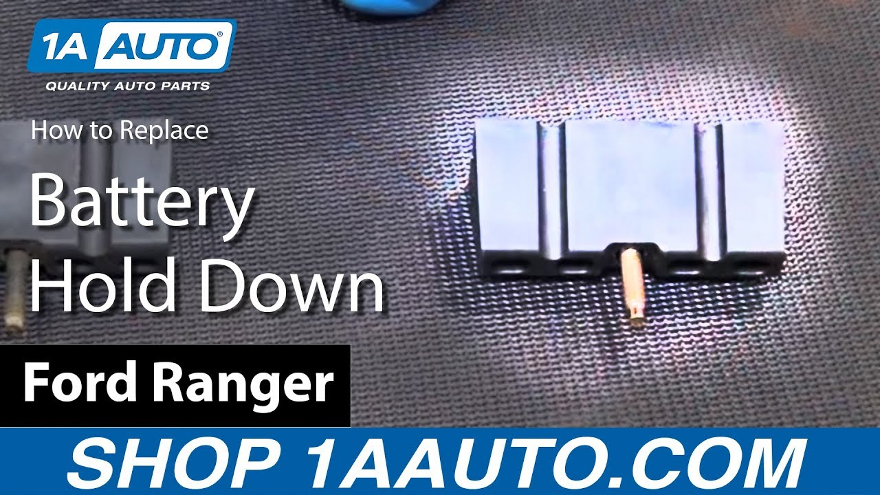 How to Replace Battery Hold Down 89-08 Ford Ranger