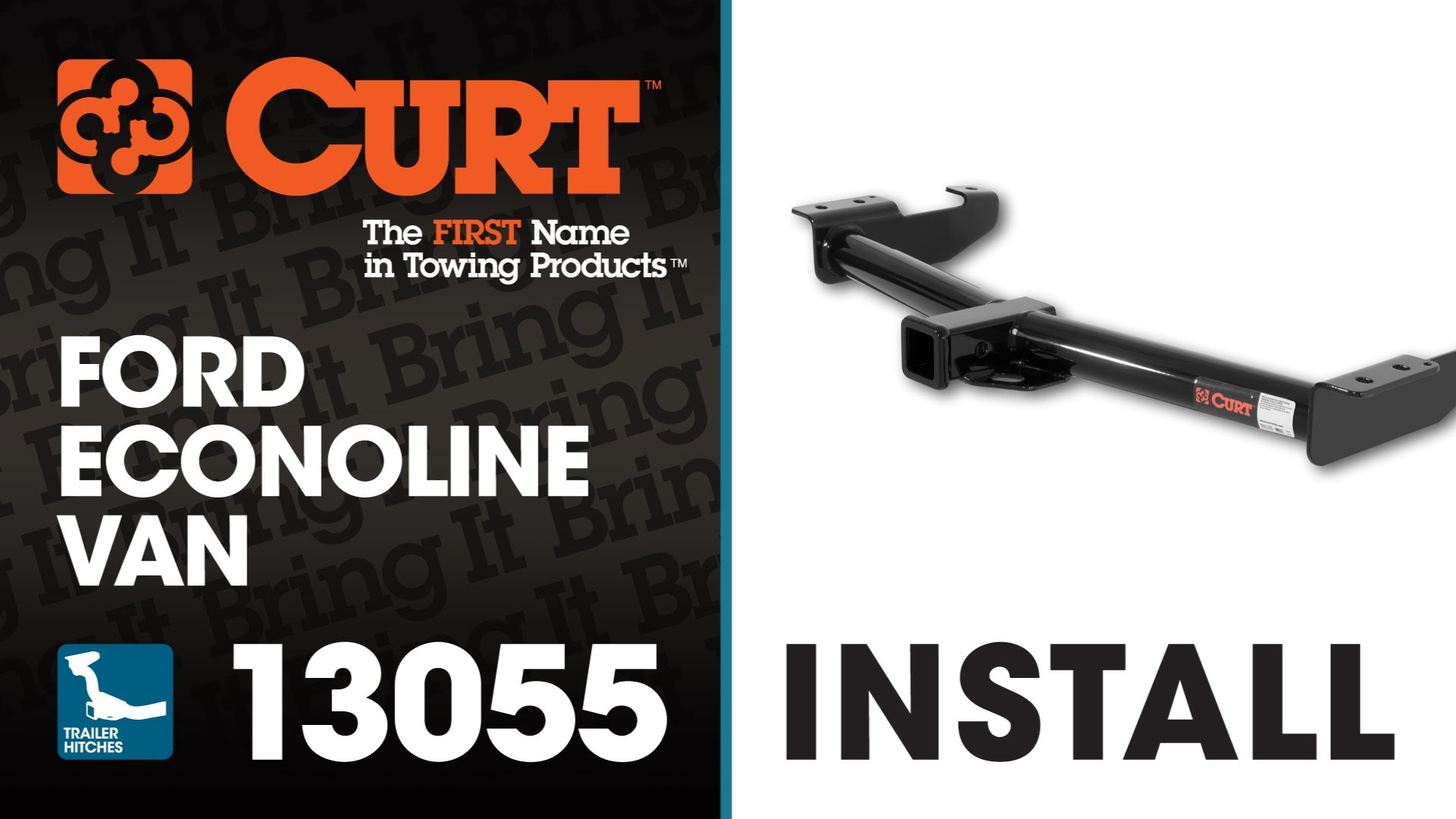 Trailer Hitch Install: CURT 13055 on Ford Econoline Van