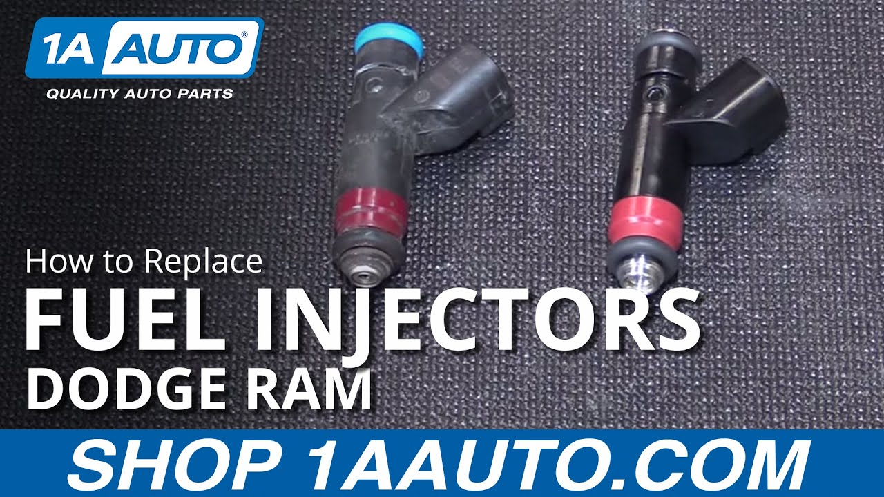 How To Replace Fuel Injectors 04