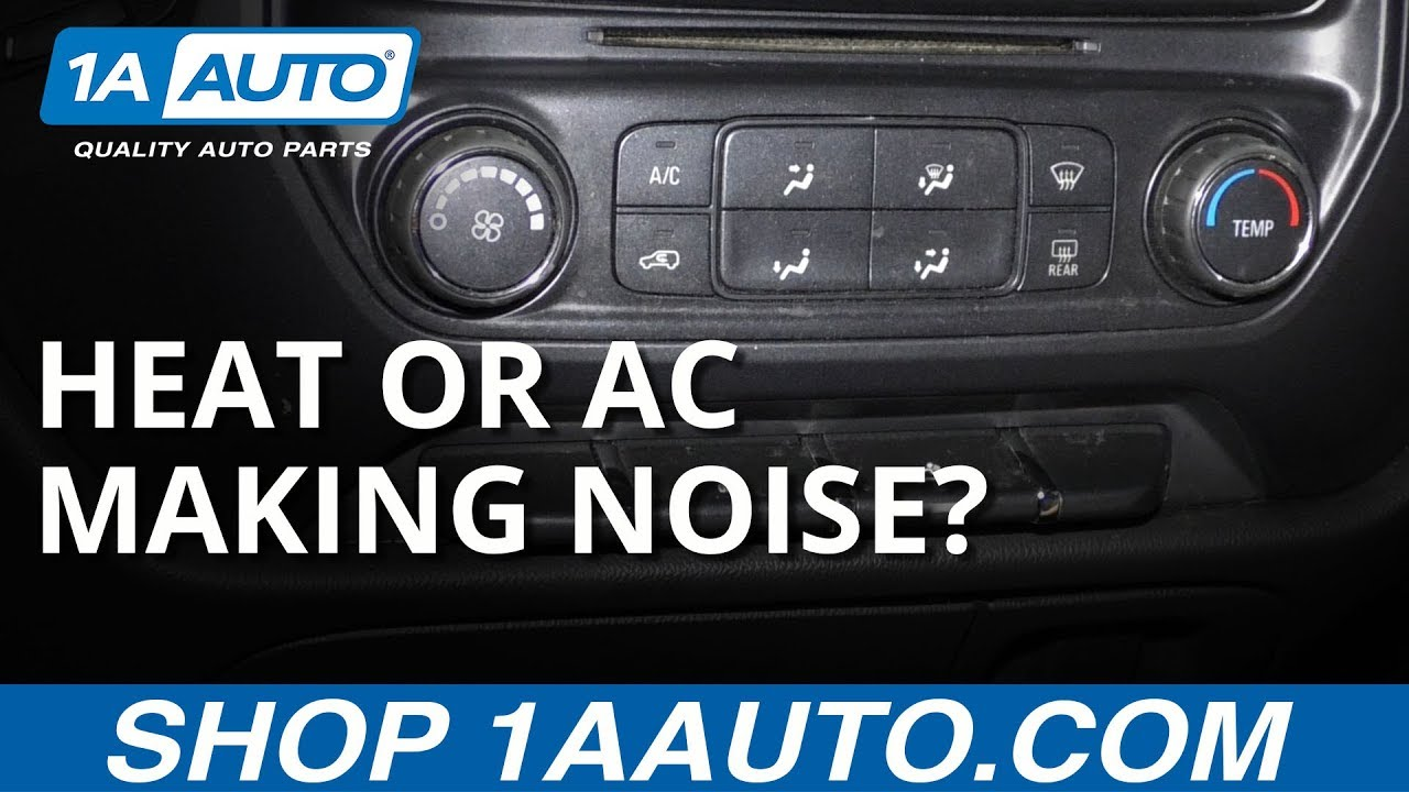 Car Air Conditioner Making Noise? Simple Fix!
