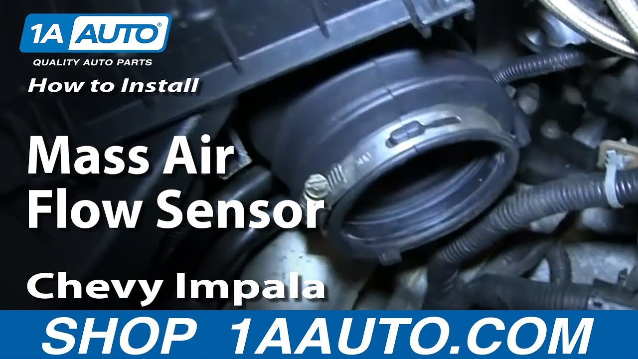 How to Replace Mass Air Flow Sensor 06-09 Chevy Impala
