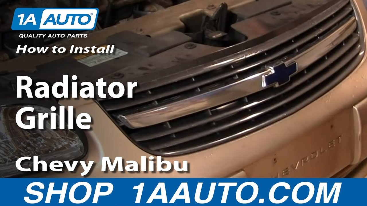 How to Replace Grille 00-03 Chevy Malibu